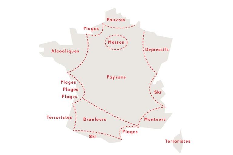 La France vue par les français.
