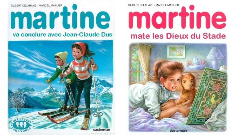 parodie martine