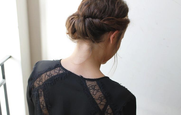 Style et coiffure pour les f tes - Coiffure pour les fetes ...