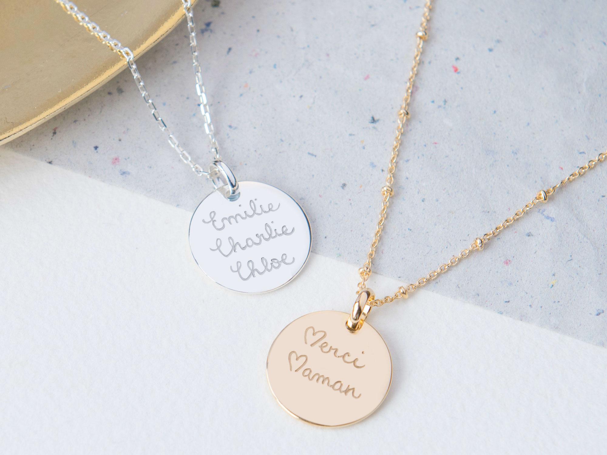 Connu Idée cadeau : les bijoux Merci Maman, l'attention qui tombe à pic  RY97